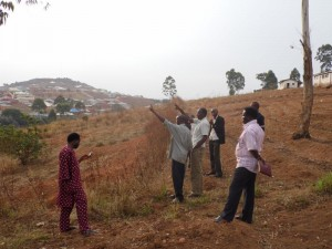 Land Site of the new hospital